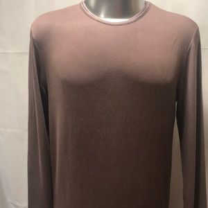 NWT Long Sleeve Sz Med-Lrg Taupe/Sand color